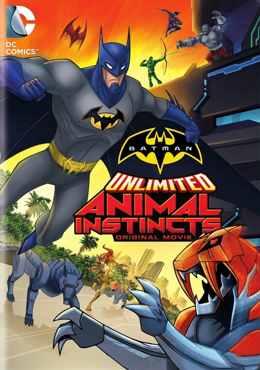 Безграничный Бэтмен: животные инстинкты (2015) смотреть онлайн