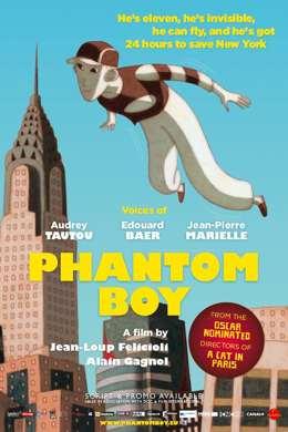 Мальчик-призрак / Phantom Boy (2017) смотреть онлайн