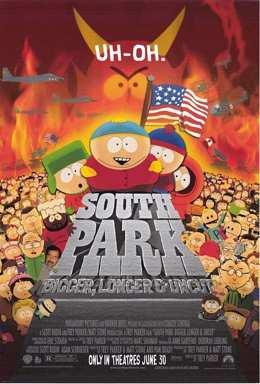 Южный Парк: Большой, длинный, необрезанный (1999) смотреть онлайн