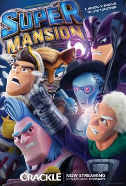 SuperMansion / Супер Особняк / UberMansion 1,2 сезон смотреть онлайн
