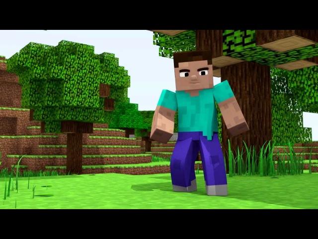 Minecraft мультики приключения стива