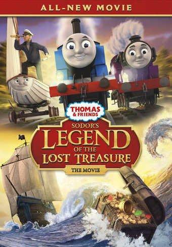 Томас и его друзья: Легенда Содора о пропавших сокровищах смотреть онлайн