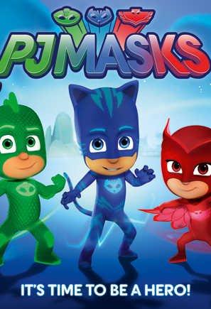 Супергерои в масках мультфильм