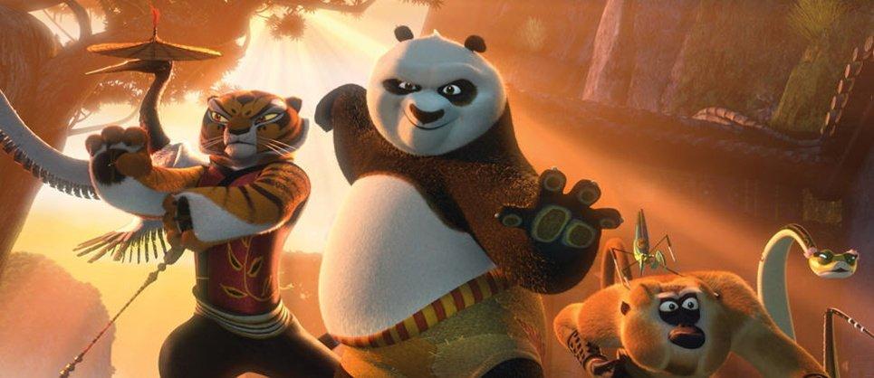 Кунг фу Панда смотреть онлайн в хорошем качестве