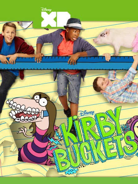 Кирби Бакетс (Disney XD) 3 сезон смотреть онлайн