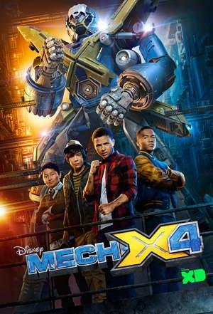 Мех Экс Фор / Мех Икс Disney 1,2 сезон смотреть онлайн