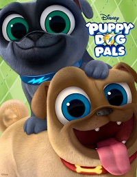 Дружные мопсы / Мой друг щенок Disney смотреть онлайн
