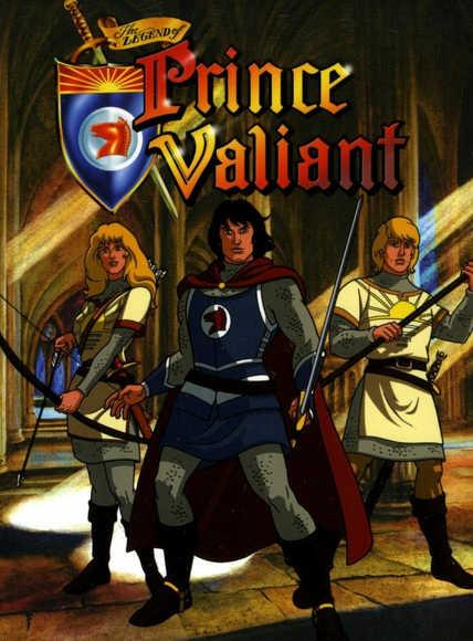Легенда о принце Валианте смотреть онлайн