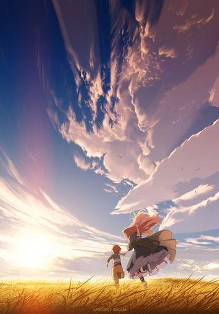 Укрась прощальное утро цветами обещания (2018) 1 сезон смотреть онлайн