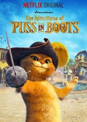 Приключения кота в сапогах 1-7 сезон смотреть онлайн