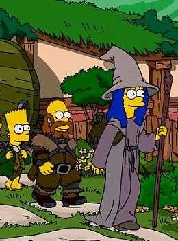 Симпсоны пародие на Хоббит смотреть онлайн