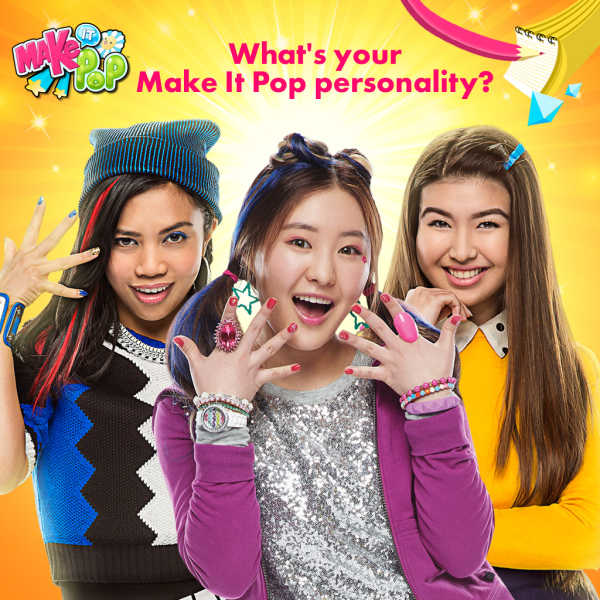 Зажигай / Мэйк ит Поп / Make it pop Nickelodeon