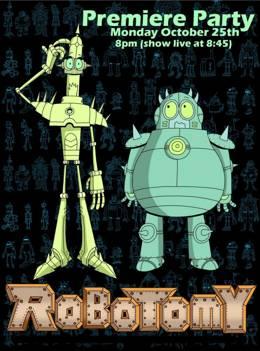 Роботомия / Robotomy Cartoon Network смотреть онлайн