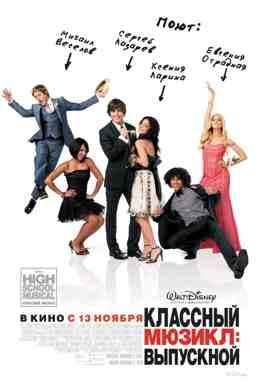 Классный мюзикл 3: Выпускной (2008) смотреть онлайн