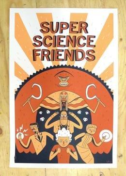 Супер Научные Друзья смотреть онлайн