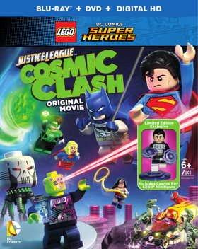 LEGO супергерои DC: Лига Справедливости: Космическая битва (2016) смотреть онлайн