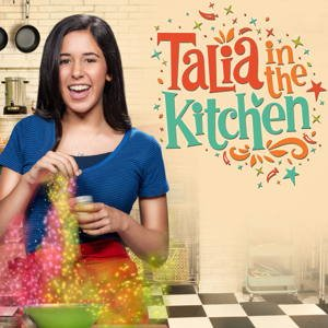 Талия на кухне