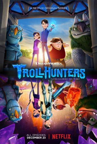 Охотники на Троллей / Troll Hunters 1,2,3 сезон смотреть онлайн