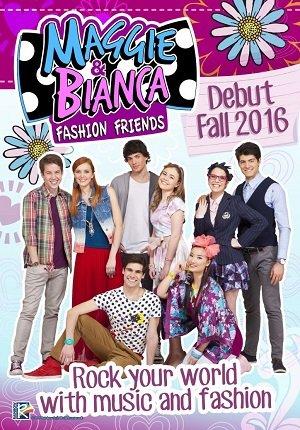 Мэгги и Бьянка в Академии моды 1,2 сезон смотреть онлайн