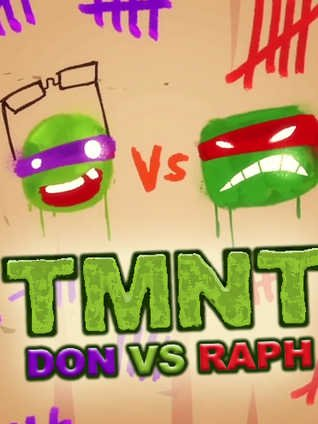 Черепашки Ниндзя: Дони против Рафа смотреть онлайн