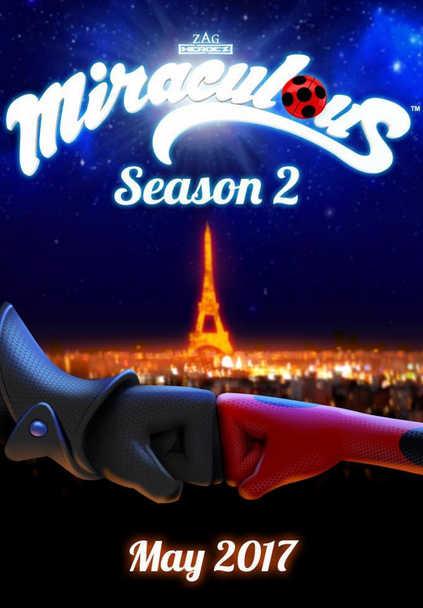 ЛедиБаг и Кот Нуар 2 сезон смотреть онлайн