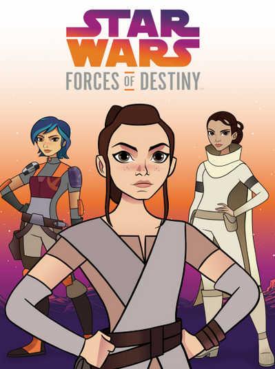 Звездные войны: Силы судьбы 1,2 сезон смотреть онлайн