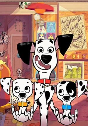 Улица 101 Далматинец / 101 Dalmatian Street Disney смотреть онлайн