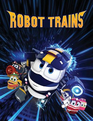 Роботы поезда / Поезда-трансформеры (для малышей) смотреть онлайн