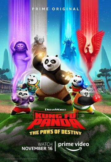 Кунг-фу панда: Лапки судьбы 1,2 сезон смотреть онлайн